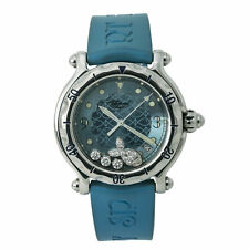 Chopard Happy Sport Fish 28/8347/8  Quartz Watch Floating Diamond Dial 38MM