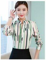 Tops Women Korean Chiffon Summer Blouse T-Shirt Loose Stylish Top T-shirts