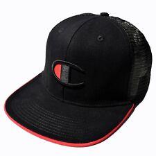 NWT Champion Big C Logo Trucker Hat Snapback Cap Rare Authentic