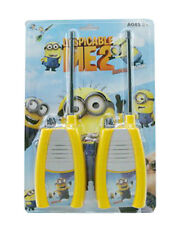 WALKIE TALKIES MINIONS DESPICABLE ME 2 KIDS MOVIE CARTOON TOY CHRISTMAS PRESENT