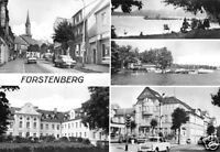 AK, Fürstenberg Havel, Kr. Gransee, fünf Abb., 1978