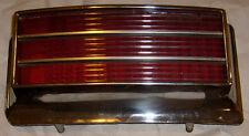 1965 Oldsmobile 98 Driver's Side Taillight Lens and Bezel.