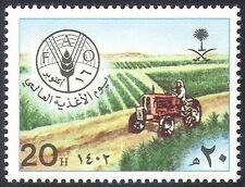 Saudi Arabia 1982 FAO/FFH/Tractor/Food/Farming/Crops/Wheat/Hunger  1v (n28903)