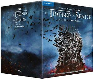 Il Trono di Spade Serie TV Completa 33 Blu-ray Stagioni 1-8 BOX NUOVO SIGILLATO