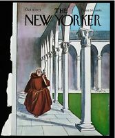 The New Yorker COVER ONLY October 9 1971 | Cover By: Charles Saxton Roman Radio