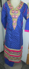new  style beautiful gold embroidery silk    Cotton  salwar kameez Size XL44