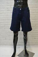 FILA Bermuda Uomo Blu Taglia Size 50 Pantaloncino Shorts Man Pantalone Corto