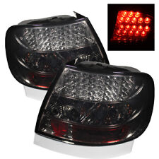 Audi 96-01 A4 00-02 S4 B5 Sedan Smoke Lens Rear LED Tail Brake Lights
