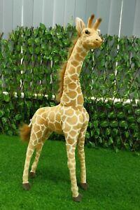 Jungle Party Decoration Plush Soft Cuddly Huge Stuffed Animal Tiger Lion Giraffe