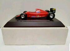 BBURAGO BURAGO 1:24 FERRARI FIAT PIONEER DESK PLINTH JEAN ALESI FORMULA 1 F1 CAR