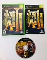 Thirteen XIII 13 [Microsoft Xbox] Black Label Complete 2003