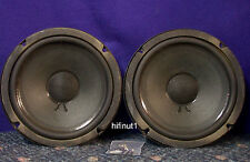 """8"""" Woofers w/Rubber Surrounds - 12002-004 -- Tested -- Nice Working Pair"""
