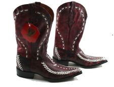 BOTAS AGUILA REAL Cowboy Boots Genuine Leather - New - Size 10.5