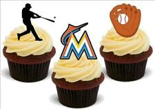 Baseball Miami Marlins Mix stand up Premium Carte Gâteau Toppers