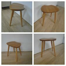 Ercol Originals 425LT  Saddle Stool Light  Finish in Beech & Elm- FREE DELIVERY