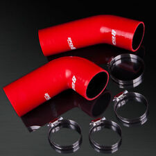 93-02 Mazda RX7 FD3S 13B-REW S6 S7 S8 4-PLY Red Turbo Silicone Hose Kit Inlet 01