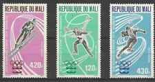 Timbres Sports d'hiver JO Mali PA267/9 ** lot 22748