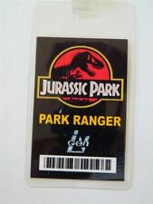 HALLOWEEN COSTUME PROP-ID/Security Badge Jurassic Park (Park Ranger Badge)
