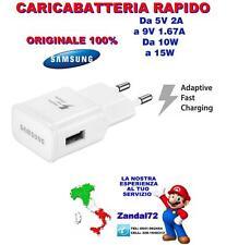 CARICABATTERIA RAPIDO ORIGINALE SAMSUNG GALAXY J1 J3 J5 J7 J9 FAST CHARGING