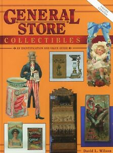 General Store Collectibles - Advertising Tins Bottles Fixtures / Book + Values