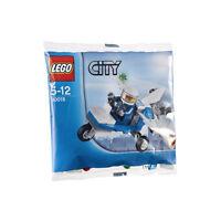 NEW Lego City Policeman & Police Airplane 30018 Microlight Polybag