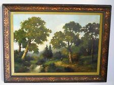 Hermanus Johannes Veger Dutch Landscape Oil canvas b.1910 20th century Danish