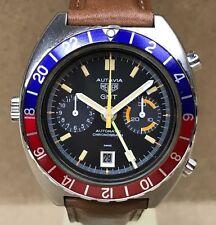 Vintage Heuer Autavia GMT Wristwatch