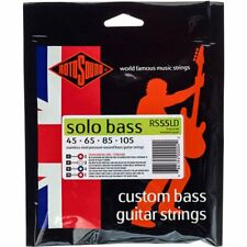 Rotosound RS55LD 'Solo Bass' Stainless Steel 4-String Bass strings 45-105