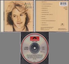 ANDY GIBB Self Title Greatest Hits 1991 All Silver GERMANY CD Bee Gees RARE 70s