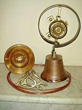 Victorian Door Bell,Servants Bell.Pull & Cranks,Antique Visitors Bell.
