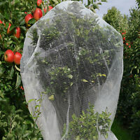 QOZY Fruit Fly Net Insect Mesh Vegetable Garden Plant Crops Bird Protection5X10M
