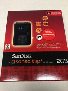 SanDisk Sansa Clip+ Black (2 GB) Digital Media Player