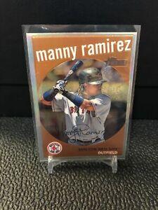 Manny Ramirez 2008 Topps Heritage C60 Chrome Refractor /559 Red Sox