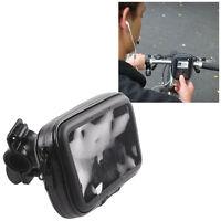 "Waterproof Bike/Motorcycle Mount Case bag for 4.3"" Garmin Nuvi,TomTom GPS"