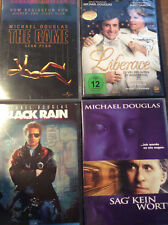 Michael Douglas [4 DVD]  The Game + Sag kein Wort + Black Rain + Liberace
