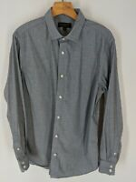 Mens banana republic large stretch tailored slim fit long-sleeve button-up shirt