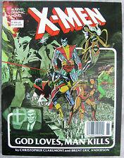X-MEN God Loves Man Kills 1st William Stryker Marvel Graphic Novel #5 8th PRINT