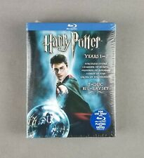 Harry Potter Years 1-5 (Blu-ray 5-Disc Set) Sorcerer's Stone, Chamber of Secrets