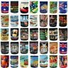 Stubby Holder Stubbie Can Beer Bottle Drink Cooler Australia Flag Funny Souvenir