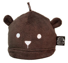 Agent Boots - Chocolate Cub Caps Undercover Bear Hat by LUG