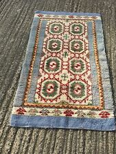 """PRELOVED HAND MADE TRADITIONAL STYLE AREA RUG / CARPET  36"""" X 60"""""""
