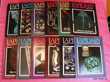 Lapidary Journal (Monthly) Full Set Of 12 1988 Issues