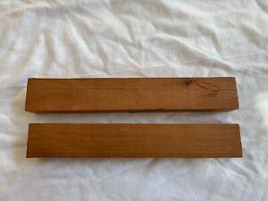 Ed Latiano Musky Lure - 2 Wooden Cedar Blocks.