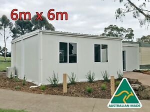 Portable Modular House Container Building Home Cabin Granny Flat Office Shed