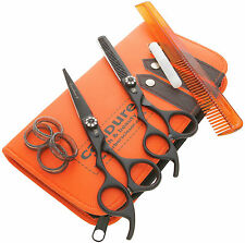 6'' Hairdressing Thinning Barber Cutting Razor Scissors Salon Shears Left Hand