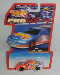 MOC Team Hot Wheels 1997 Edition NASCAR Pro Racing Car Tide Ricky Rudd