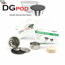 Dolce Gusto Compatible Reusable / Refillable Stailess Steel Capsule with Scoop