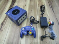 Nintendo GameCube Console Violet w/controller Cable GC Japan R853