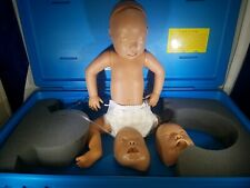 Armstrong Ambu Medical Cpr Emt Training Manikin Baby Infant With Case Amp Faces