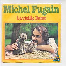 """Michel FUGAIN Vinyle 45T 7"""" LA VIEILLE DAME - APPELEZ-MOI -RCA 336 F Rèduit RARE"""